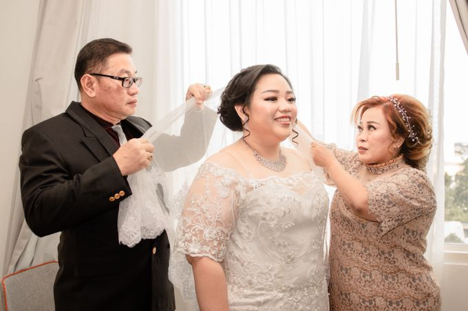 Wedding Day of Hartono & Yessica by House Of Lea Bridal - 008