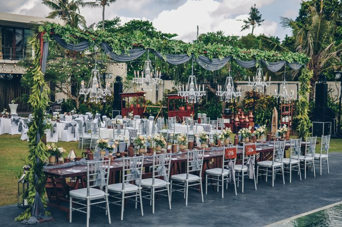 Wedding in Villa Phalosa by Bali Tie d' Knot - 017