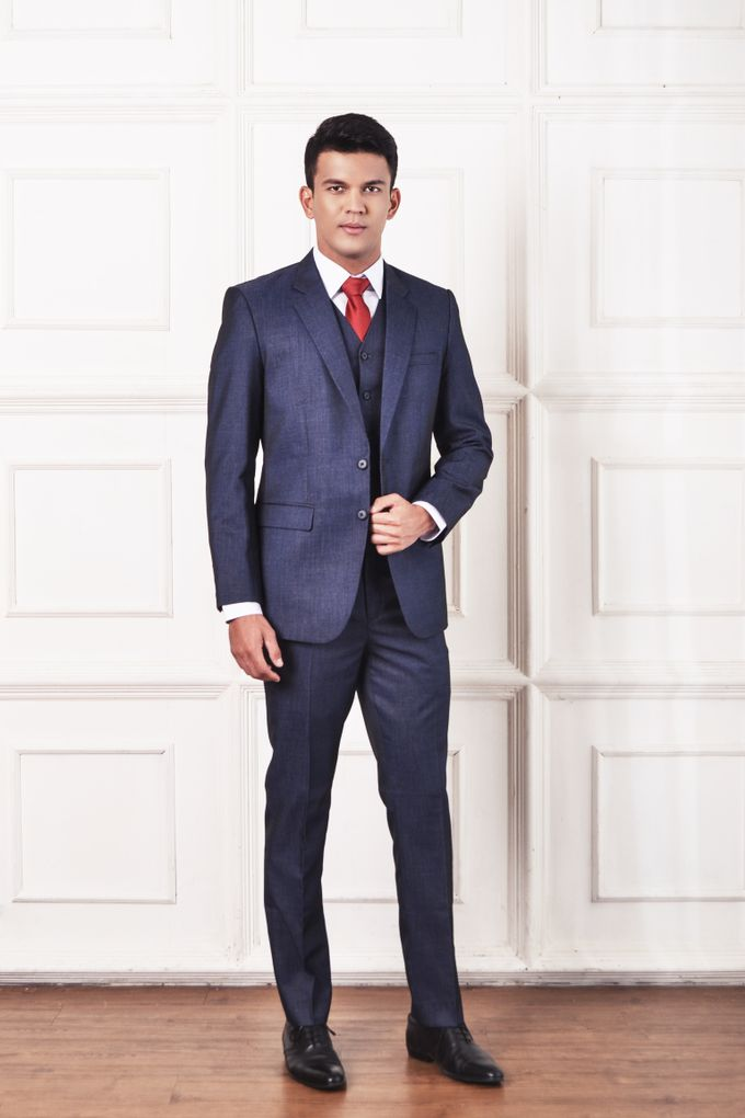 Blue Suit by ARLO Tailor - 002