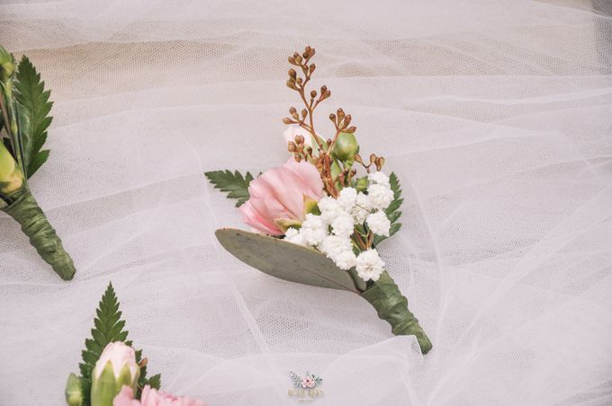 Yevita Wedding Bouquet by Floral Treats - 006