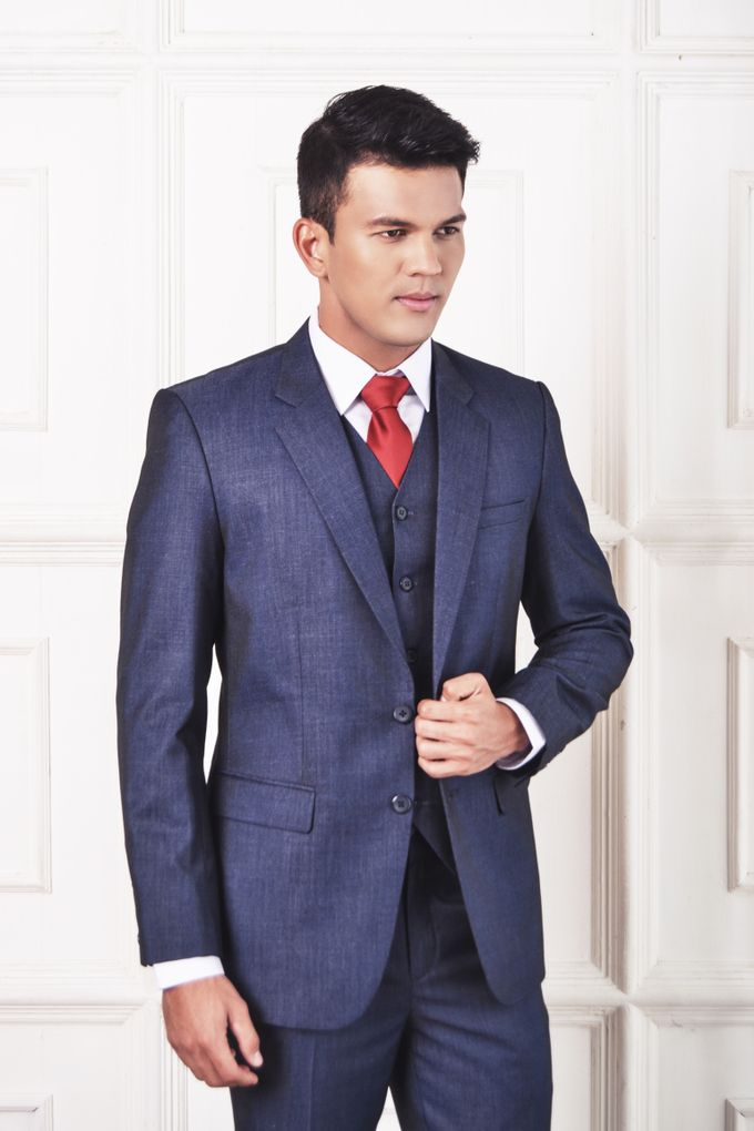 Blue Suit by ARLO Tailor - 003