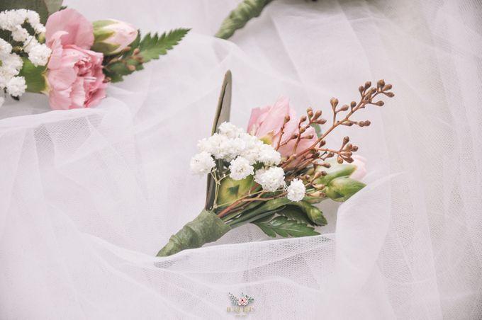 Yevita Wedding Bouquet by Floral Treats - 008