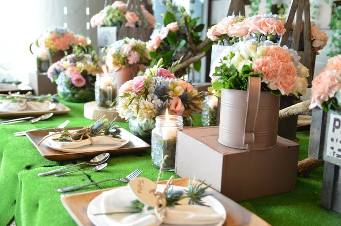 Reception Styling by Natural Art Flowers and Decors - 026