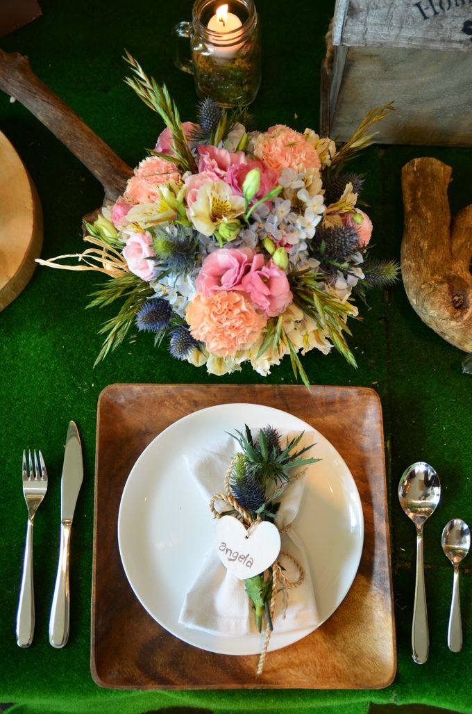 Reception Styling by Natural Art Flowers and Decors - 027