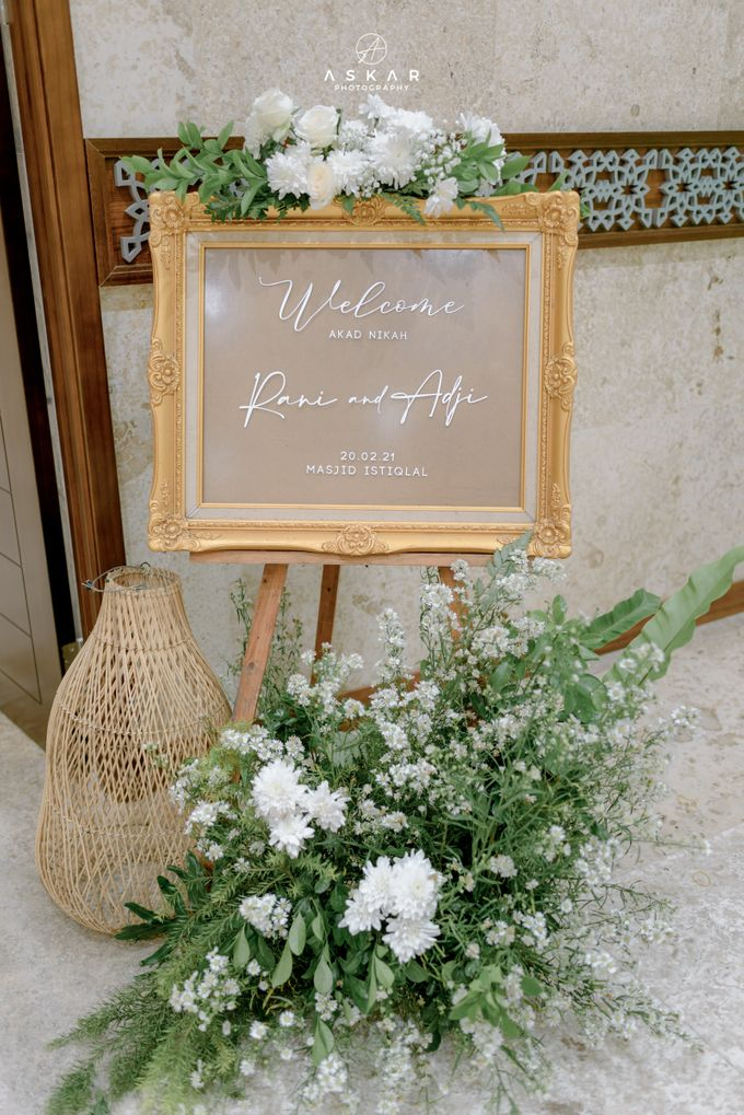 The Wedding of Rani & Adi di Masjid Istiqlal by Decor Everywhere - 003