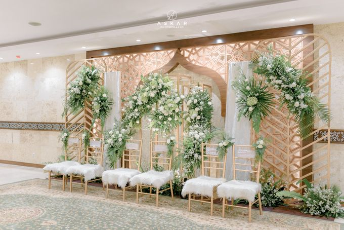 The Wedding of Rani & Adi di Masjid Istiqlal by Decor Everywhere - 001