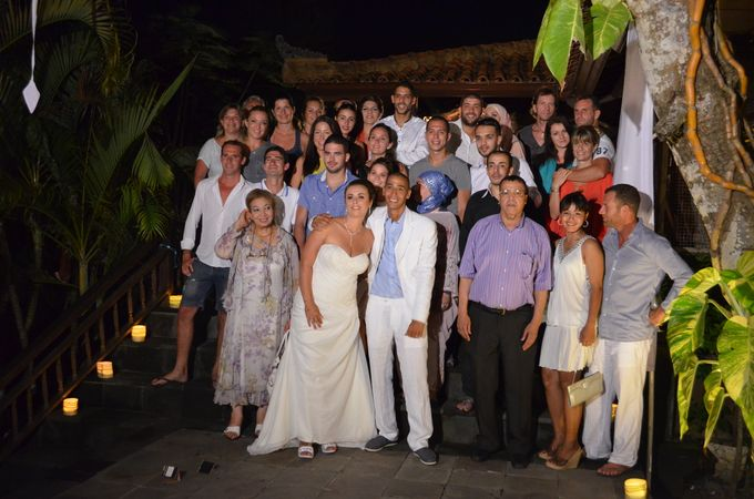Sabrina & Nabil From France & Tunisia Wedding by Honey Wedding & Event Bali - 005