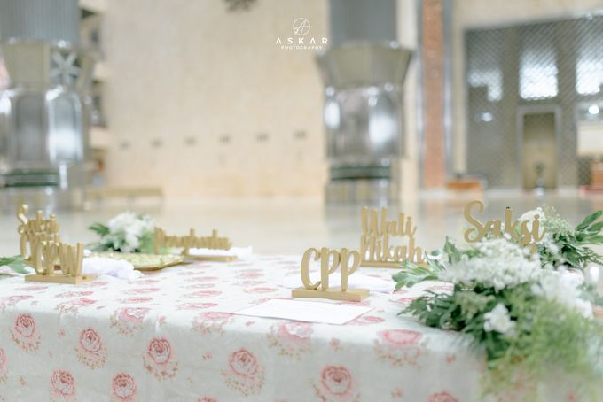 The Wedding of Rani & Adi di Masjid Istiqlal by Decor Everywhere - 008