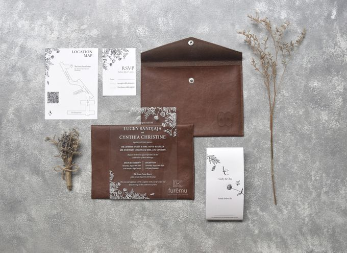 NEW NORMAL WEDDING Acrylic Monochrome Package (min. order 30 pcs only) by Furēmu - 002
