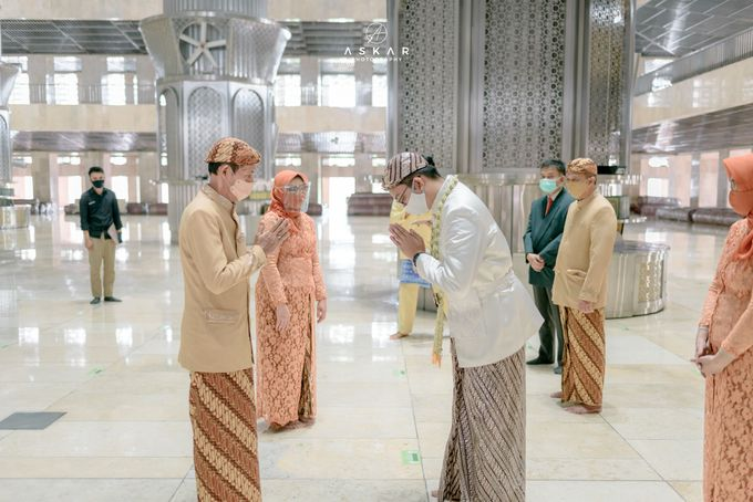 The Wedding of Rani & Adi di Masjid Istiqlal by Decor Everywhere - 014