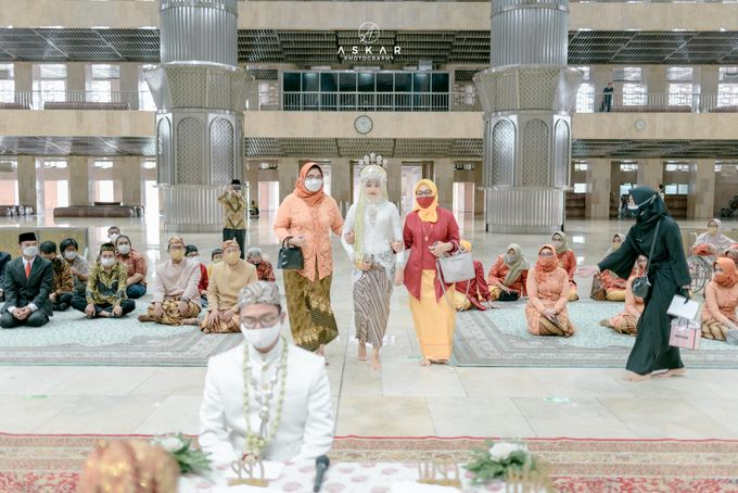 The Wedding of Rani & Adi di Masjid Istiqlal by Decor Everywhere - 015