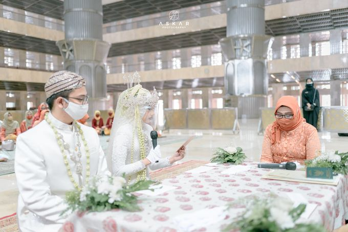 The Wedding of Rani & Adi di Masjid Istiqlal by Decor Everywhere - 017