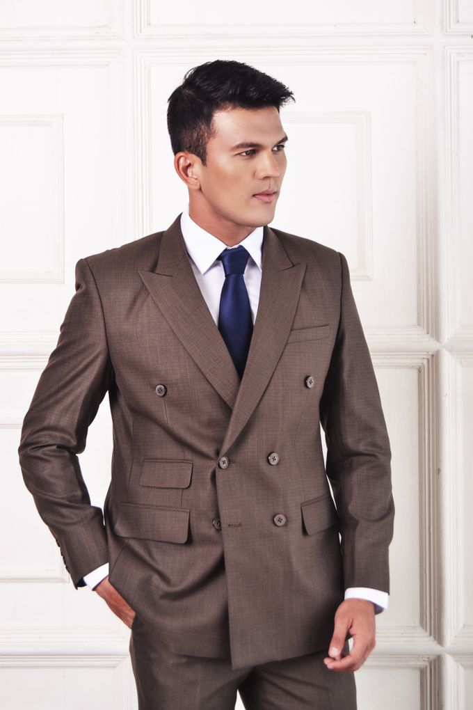 Double Breasted Suit by ARLO Tailor - 002