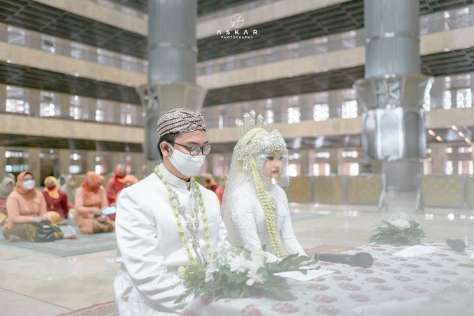 The Wedding of Rani & Adi di Masjid Istiqlal by Decor Everywhere - 019