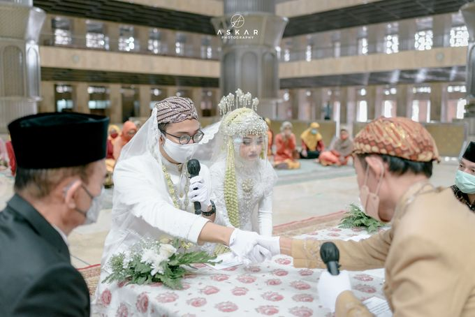 The Wedding of Rani & Adi di Masjid Istiqlal by Decor Everywhere - 021