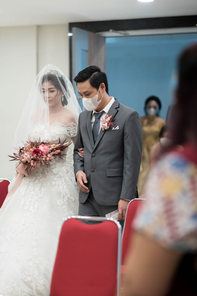 Liputan pernikahan Daniel dan Winny (08-08-2020) by Weddingscape - 024