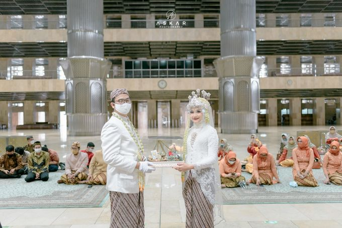 The Wedding of Rani & Adi di Masjid Istiqlal by Decor Everywhere - 022