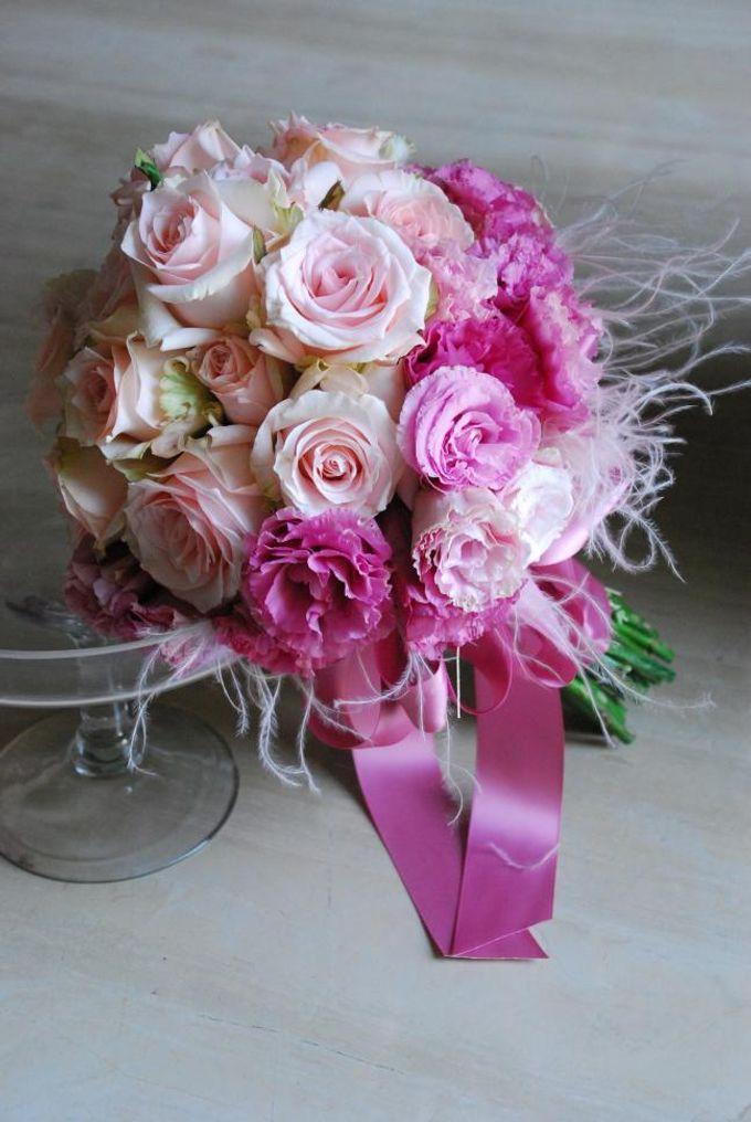 PINK theme -Wedding Bouquet by Hana Flower Boutique by Hana Flower Boutique - 003