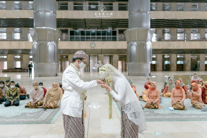 The Wedding of Rani & Adi di Masjid Istiqlal by Decor Everywhere - 023
