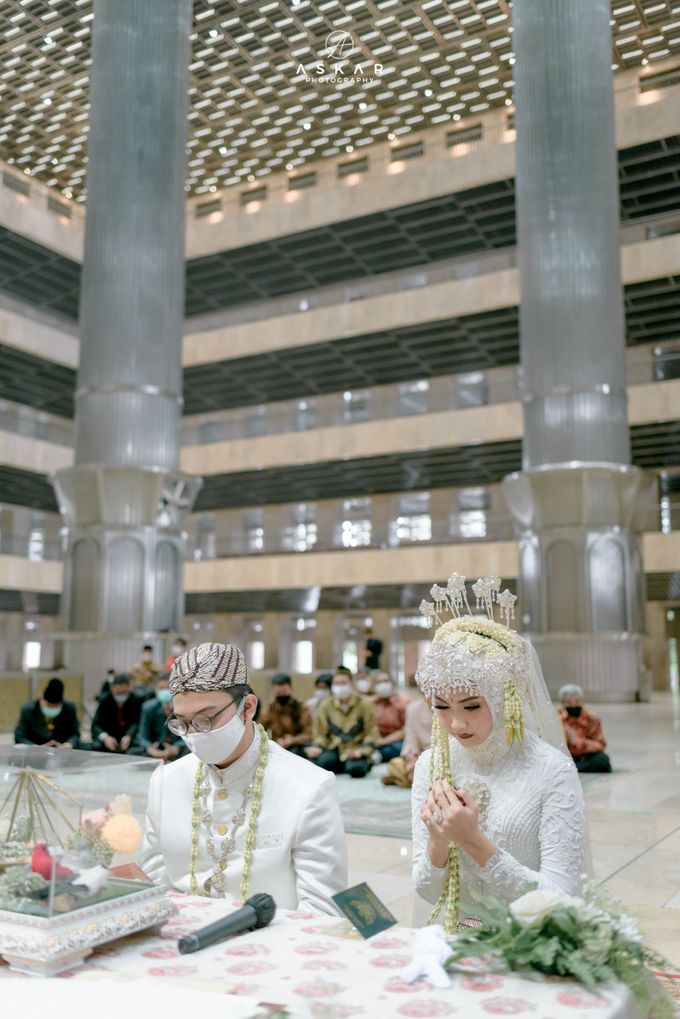 The Wedding of Rani & Adi di Masjid Istiqlal by Decor Everywhere - 024