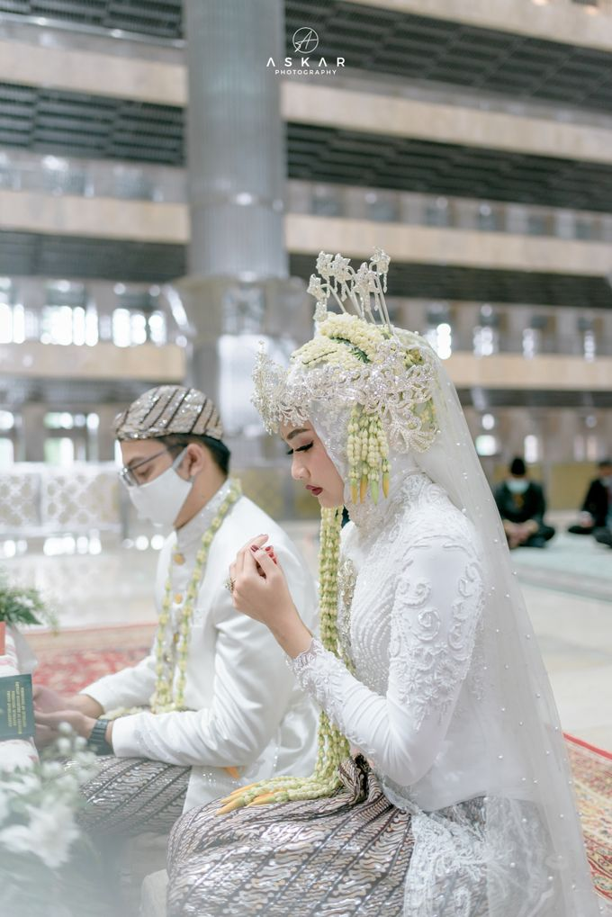 The Wedding of Rani & Adi di Masjid Istiqlal by Decor Everywhere - 025