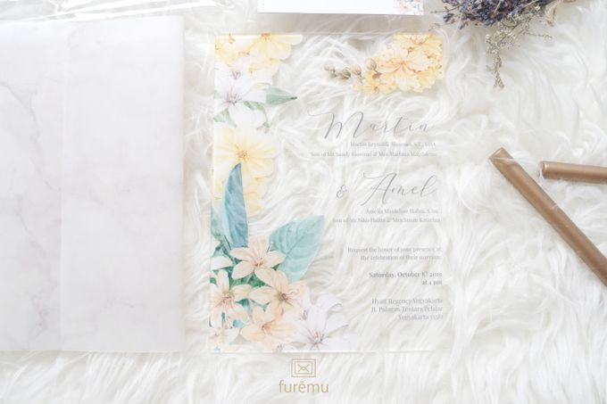 Full Color Acrylic With Vellum Cover And Clear Pouch by Furēmu - 004