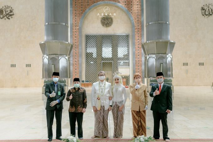 The Wedding of Rani & Adi di Masjid Istiqlal by Decor Everywhere - 026