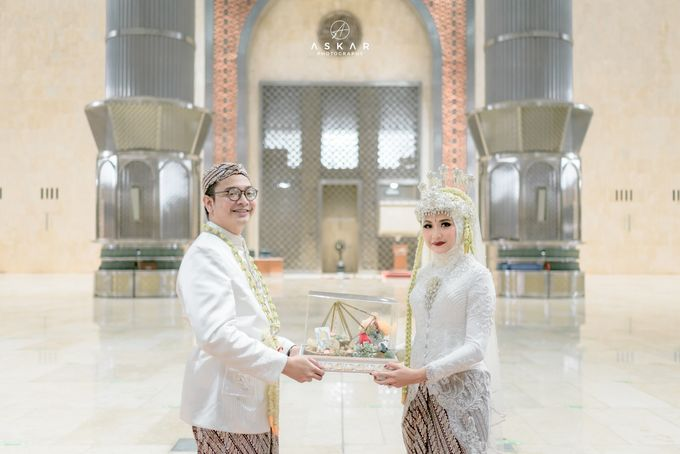 The Wedding of Rani & Adi di Masjid Istiqlal by Decor Everywhere - 027