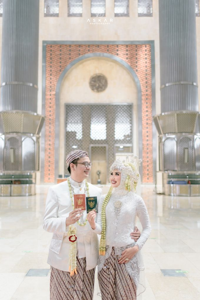 The Wedding of Rani & Adi di Masjid Istiqlal by Decor Everywhere - 033