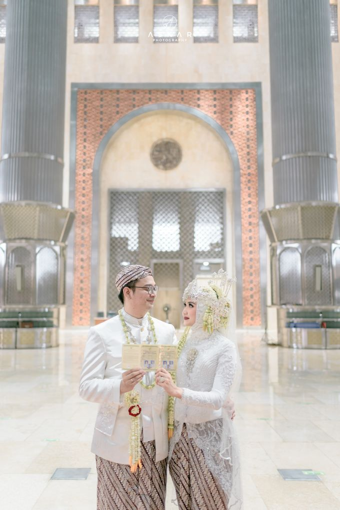 The Wedding of Rani & Adi di Masjid Istiqlal by Decor Everywhere - 034