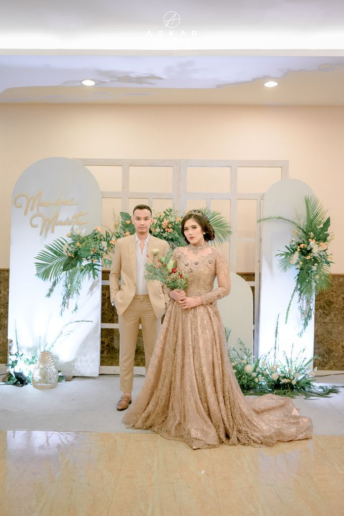 The Wedding of Marini & Mais di HOM Metland, Tambun by Decor Everywhere - 046
