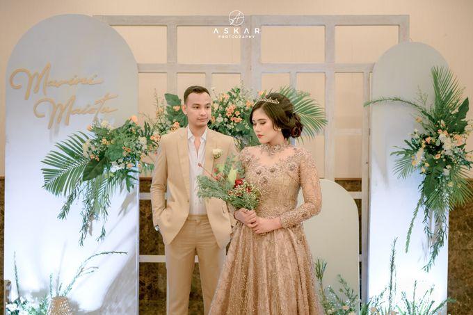 The Wedding of Marini & Mais di HOM Metland, Tambun by Decor Everywhere - 039