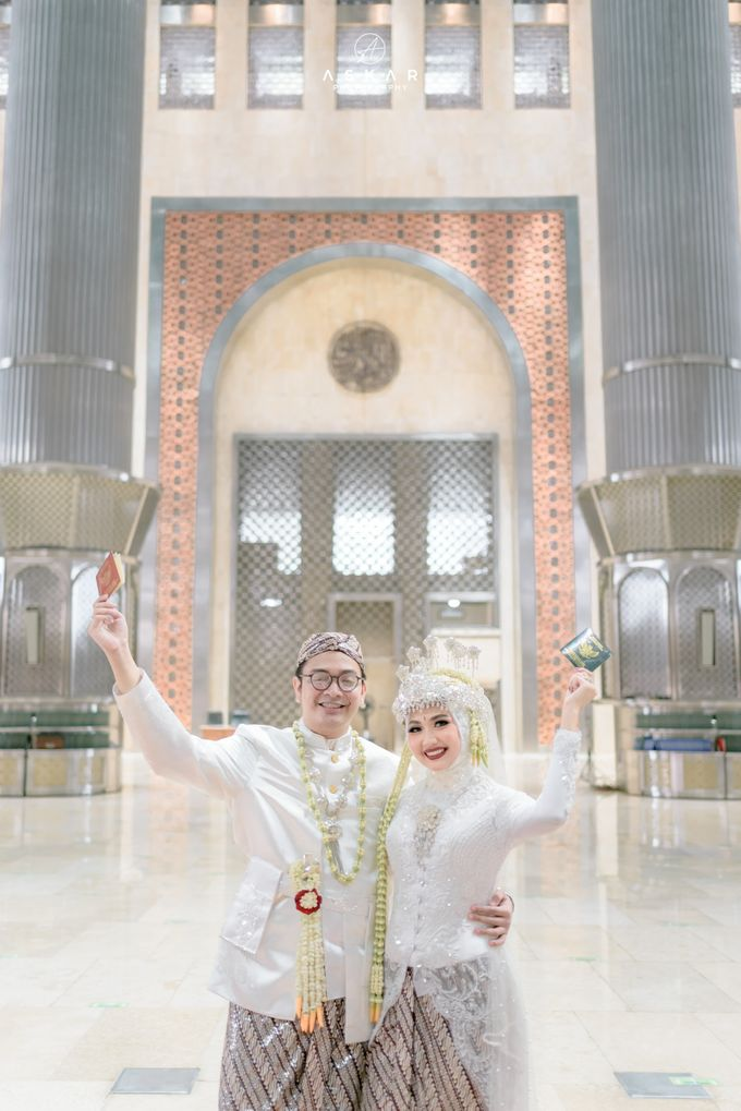 The Wedding of Rani & Adi di Masjid Istiqlal by Decor Everywhere - 036