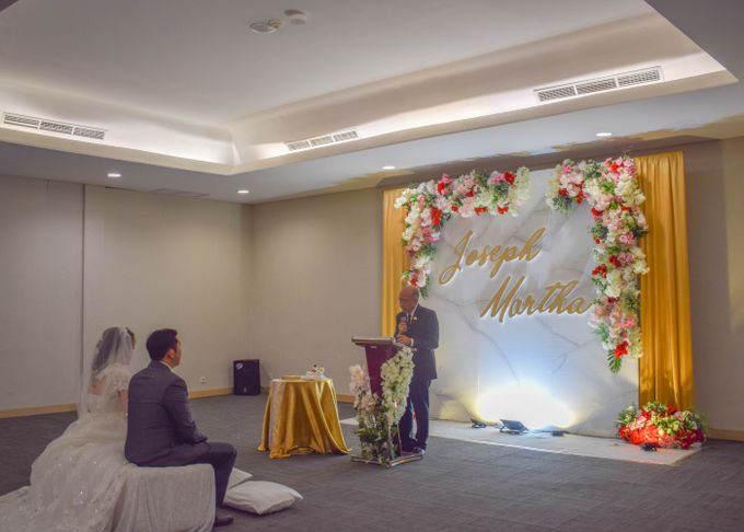 Martha & Gilang Wedding by Lemo Hotel - 021