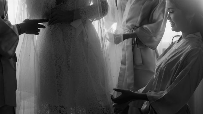 Wedding Day of Daniel & Jennie by Écru Pictures - 035