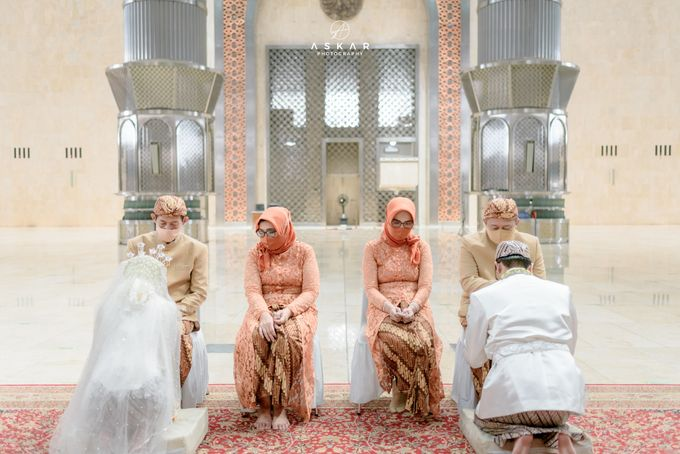 The Wedding of Rani & Adi di Masjid Istiqlal by Decor Everywhere - 041