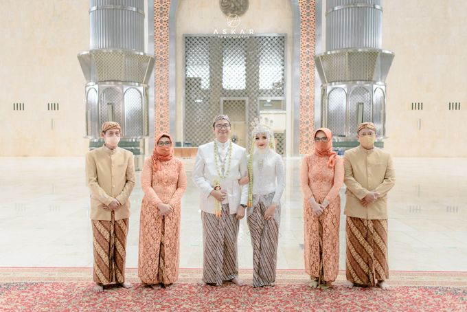 The Wedding of Rani & Adi di Masjid Istiqlal by Decor Everywhere - 042