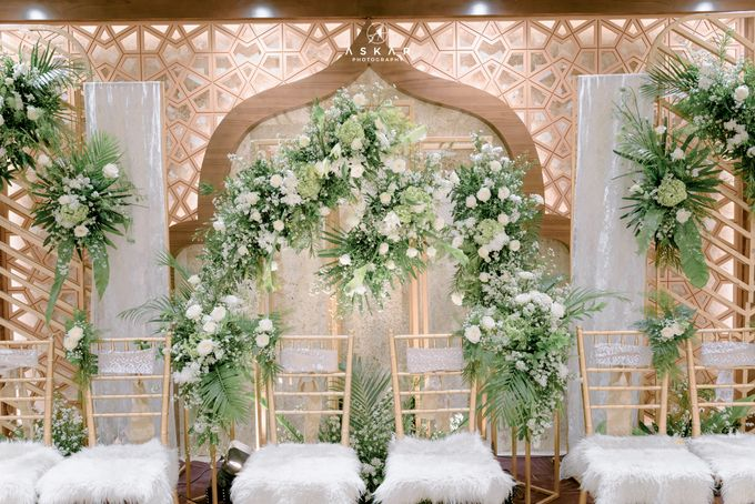 The Wedding of Rani & Adi di Masjid Istiqlal by Decor Everywhere - 002