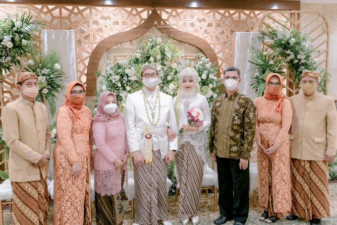 The Wedding of Rani & Adi di Masjid Istiqlal by Decor Everywhere - 043