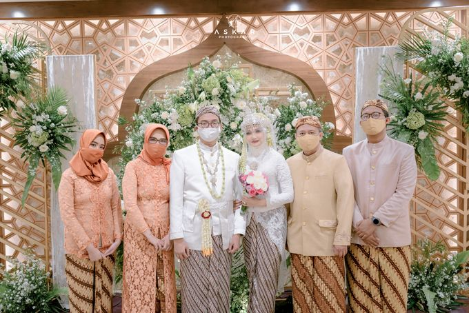 The Wedding of Rani & Adi di Masjid Istiqlal by Decor Everywhere - 046