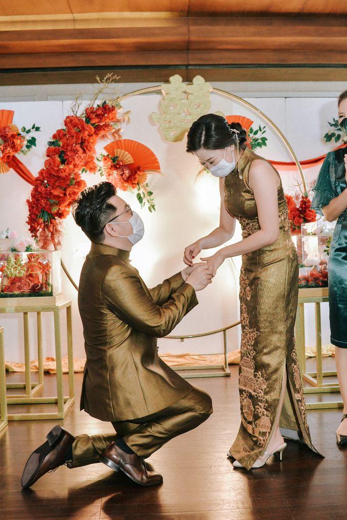 The Sangjit Of Rendy & Patricia by Calysta Sangjit Decoration - 005