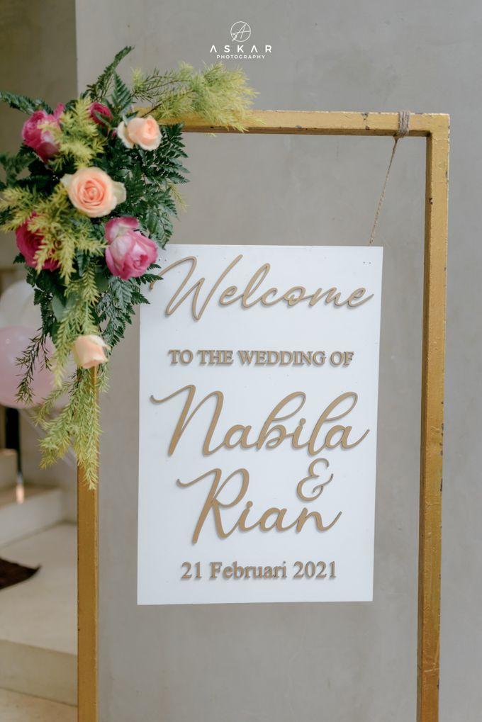 Wedding Nabila & Rian by Azila Villa - 002