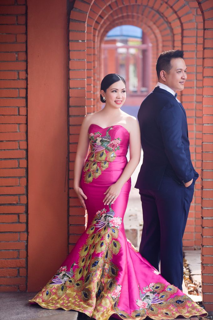 Mimi & Kris Prewedding by Michelle Bridal - 002