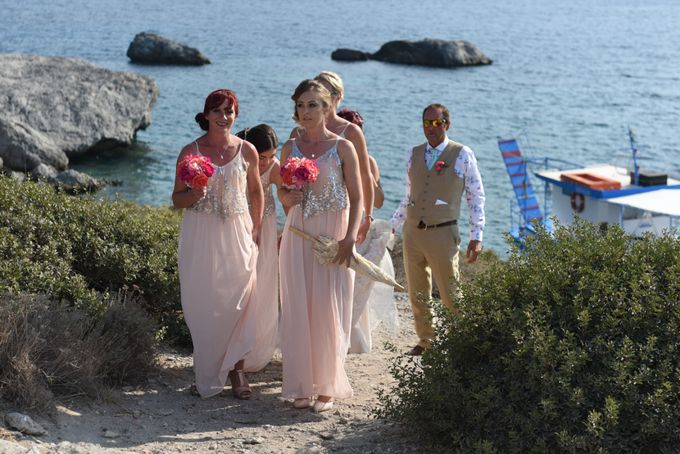 amazing wedding in Santorini by Christos Pap photography - 007