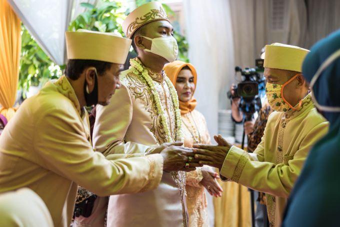 Intimate wedding session Nabil dan Surya  (02-10-2020) by Weddingscape - 007