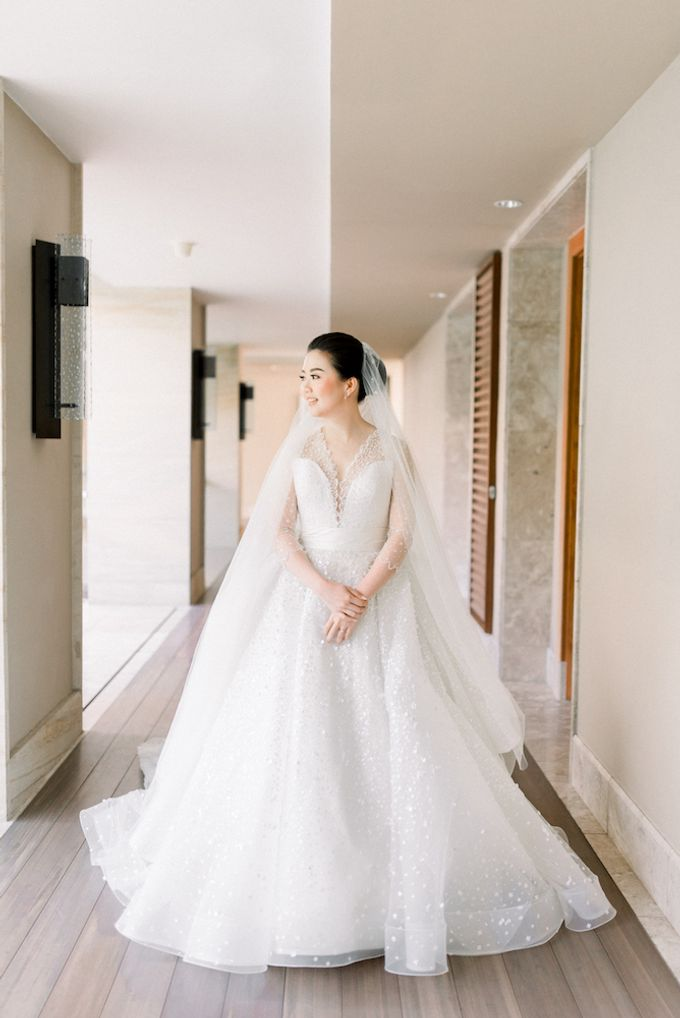 Gideon & Aktalisa Wedding by akustika bali enterprise - 005
