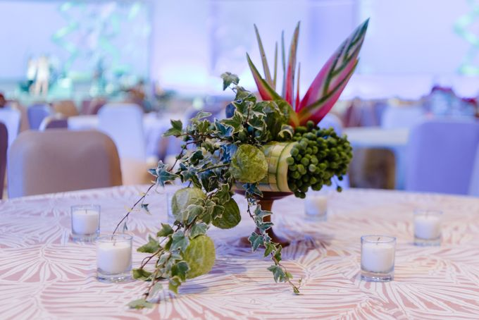 Balinese Floral Centrepieces by Make A Scene! Bali - 002