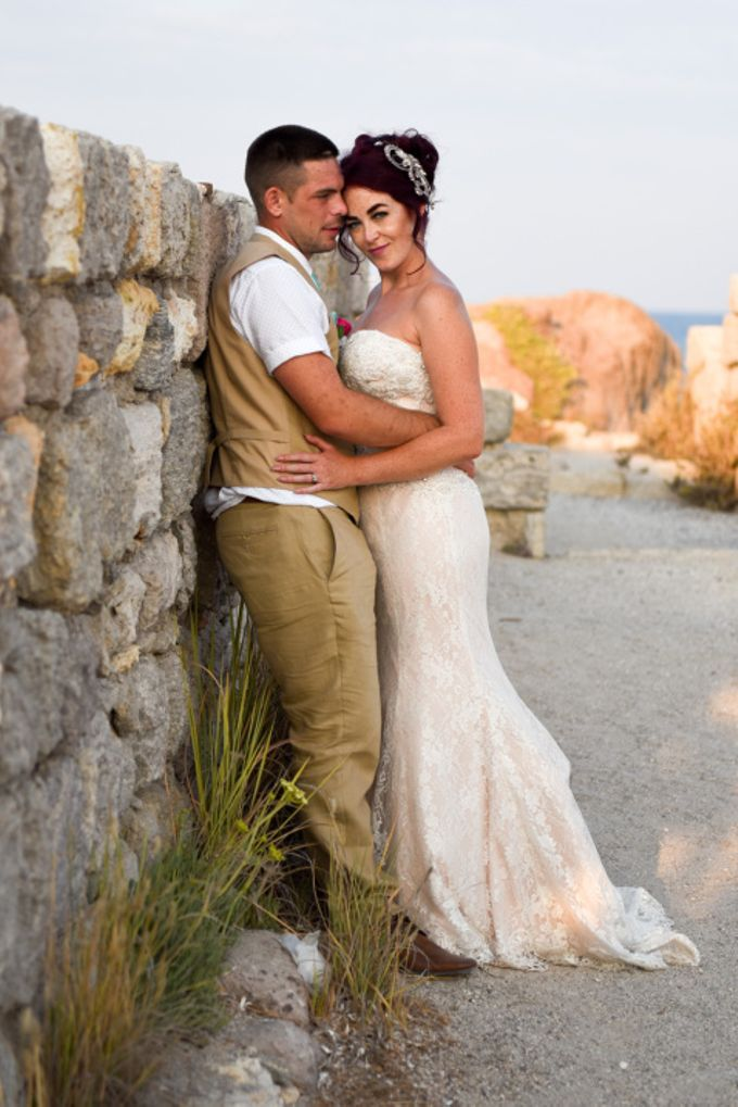 amazing wedding in Santorini by Christos Pap photography - 018