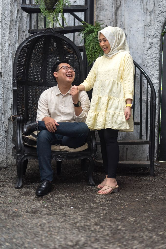 mini sesi pre wedding Dea dan Aldi (18 Oktober 2020) by Weddingscape - 006
