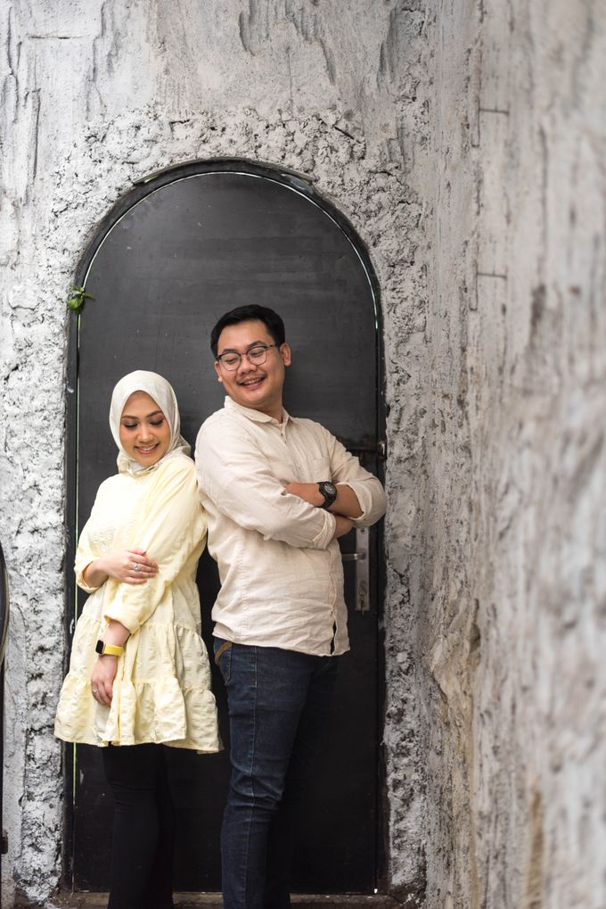 mini sesi pre wedding Dea dan Aldi (18 Oktober 2020) by Weddingscape - 019
